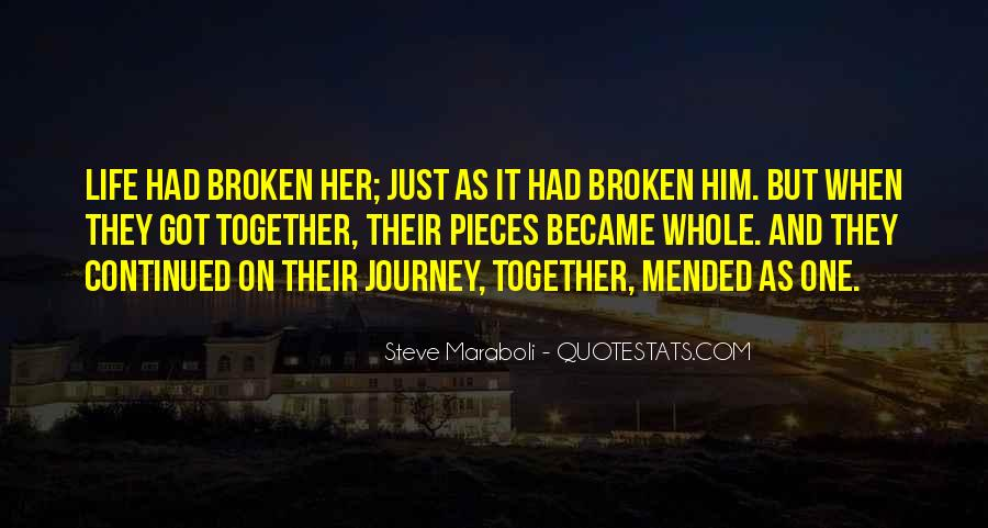 Journey Together Love Quotes #706934