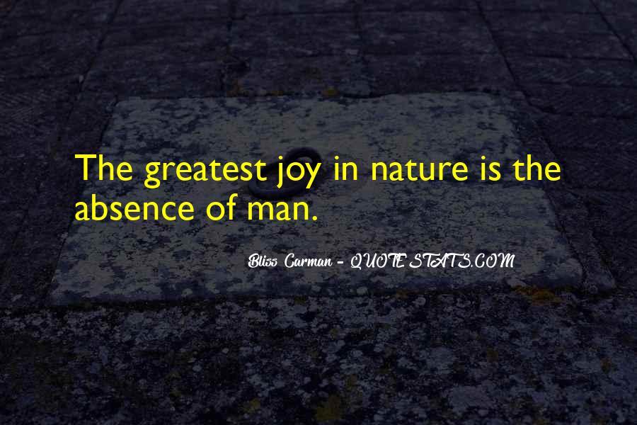 Joy In Nature Quotes #1186266