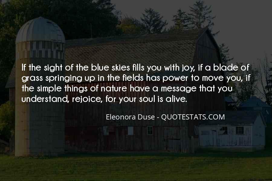Joy In Nature Quotes #1359835