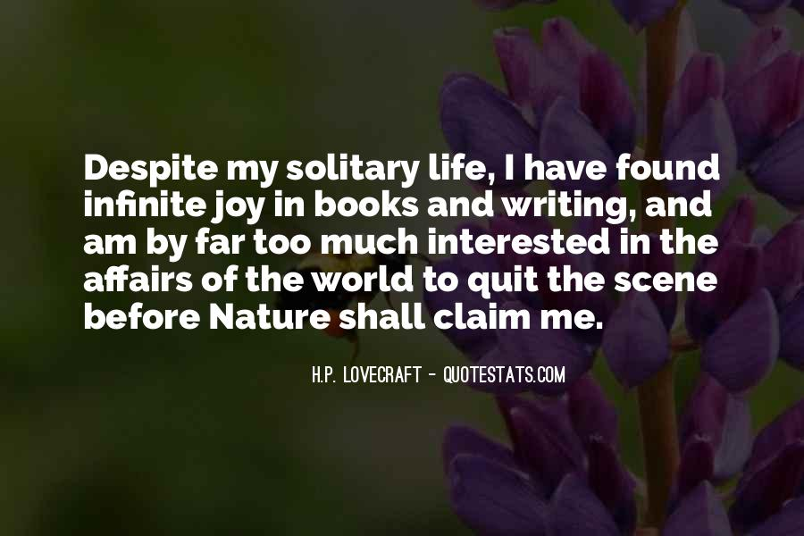 Joy In Nature Quotes #1552515