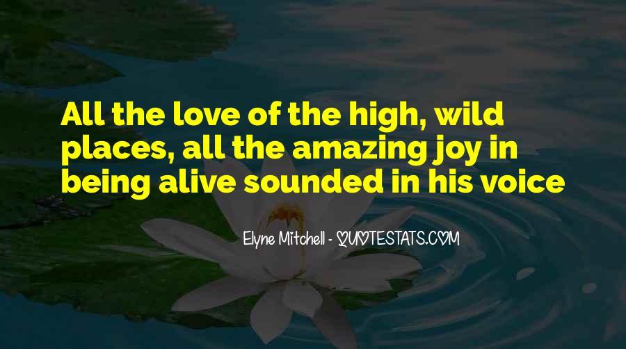 Joy In Nature Quotes #1667550