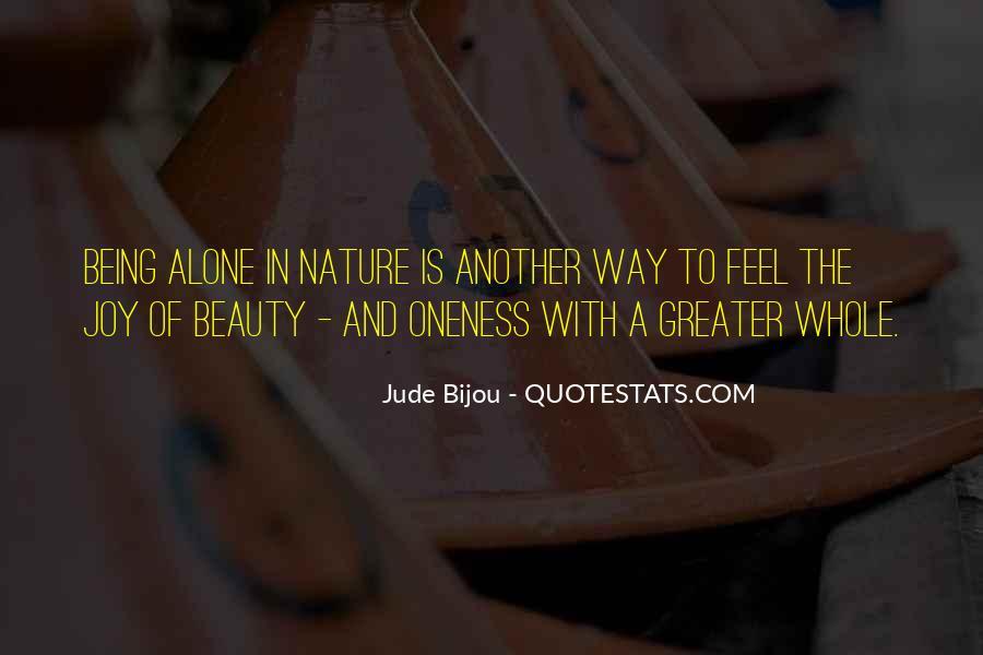 Joy In Nature Quotes #1752004