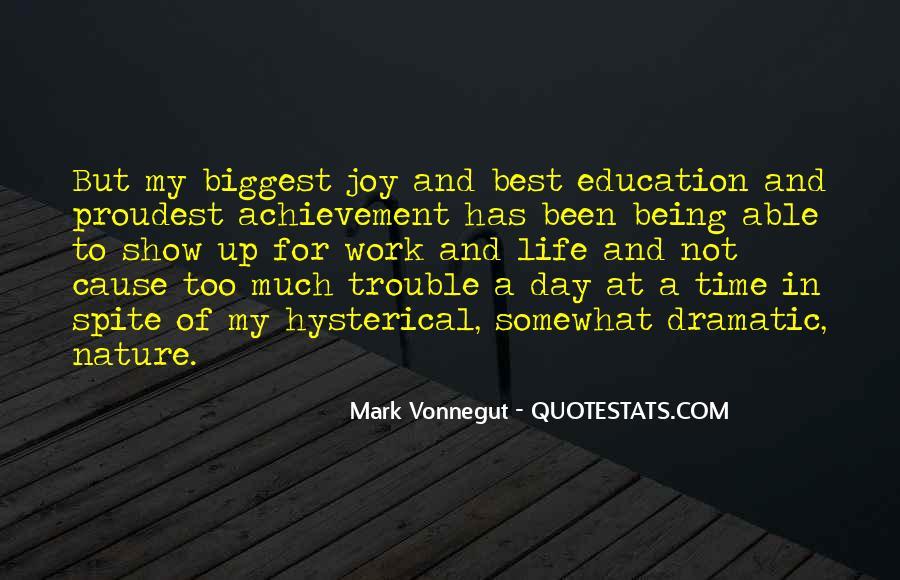 Joy In Nature Quotes #1819344