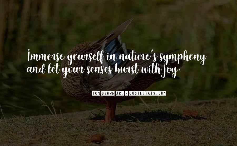 Joy In Nature Quotes #530833