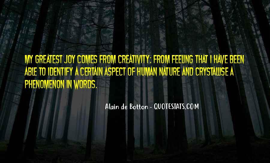Joy In Nature Quotes #585432