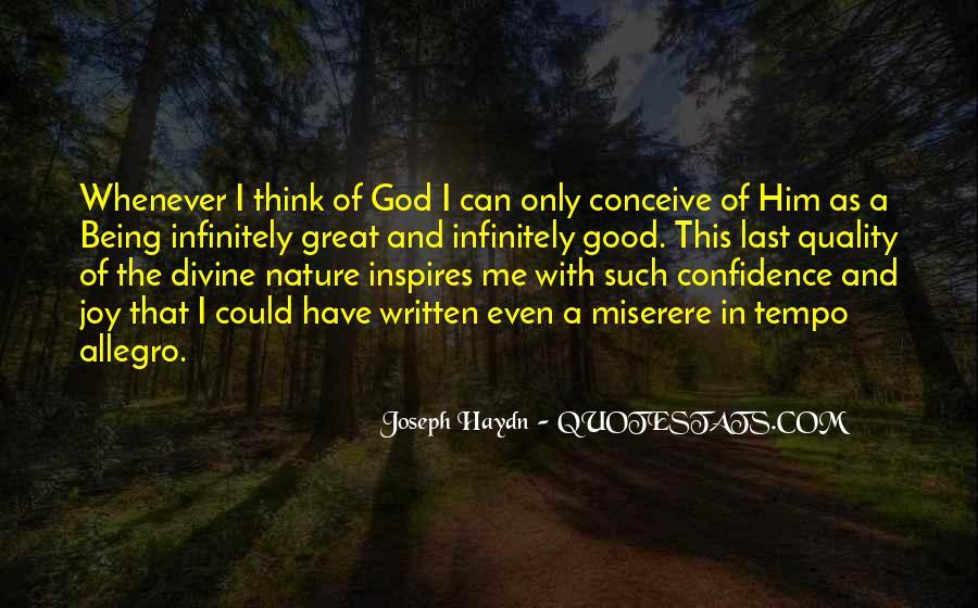 Joy In Nature Quotes #708144