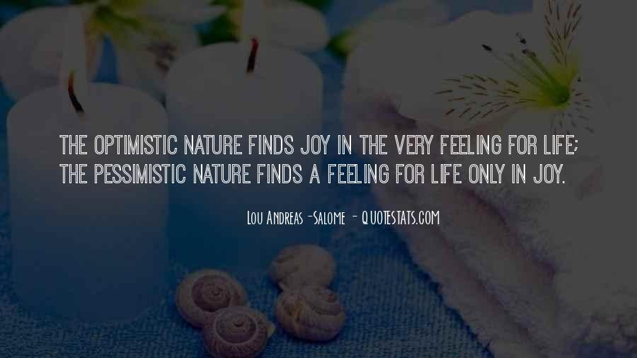 Joy In Nature Quotes #732597