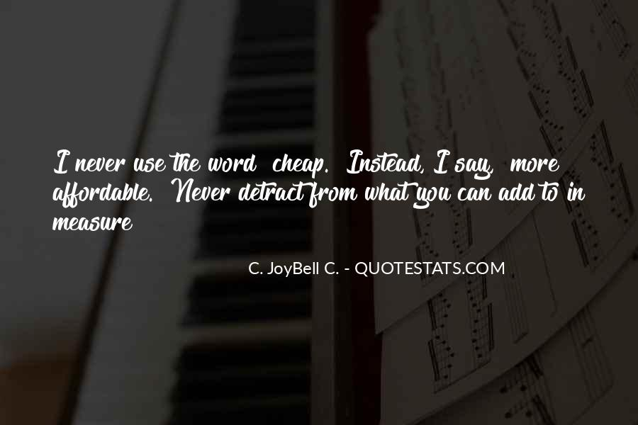 Joybell Quotes #334164