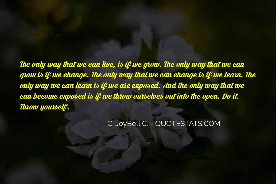 Joybell Quotes #580137
