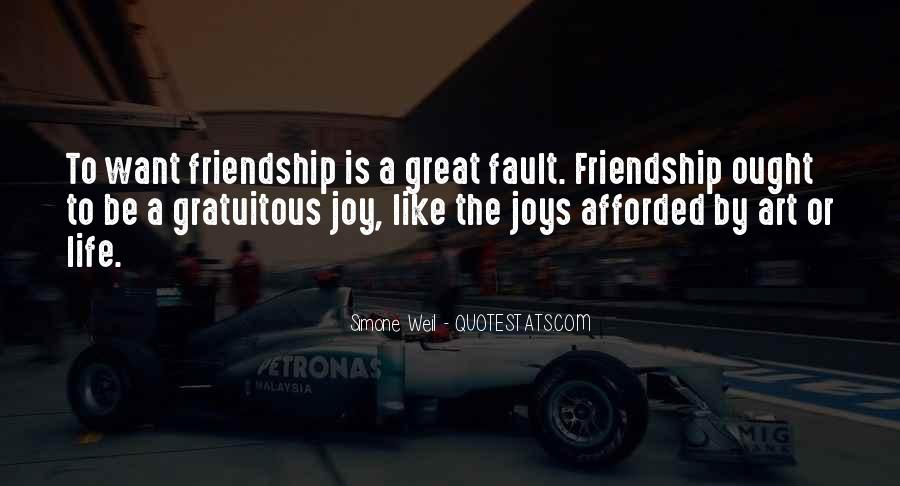 Joys Of Friendship Quotes #1851698