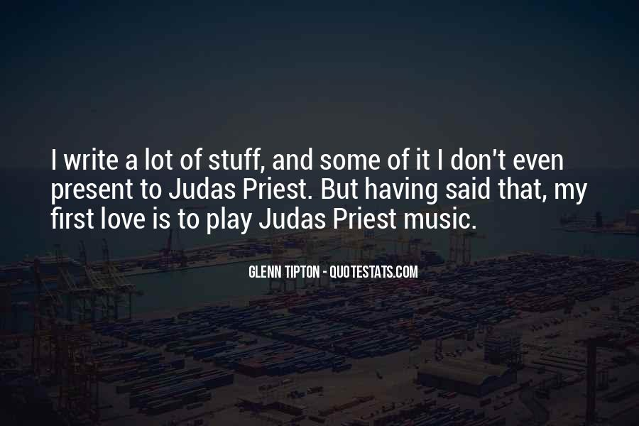Judas Love Quotes #129245