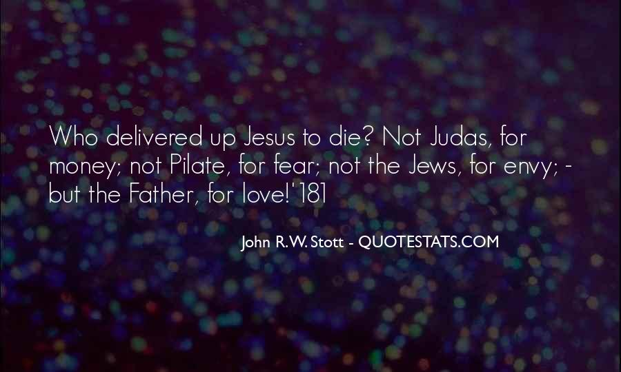 Judas Love Quotes #1645383