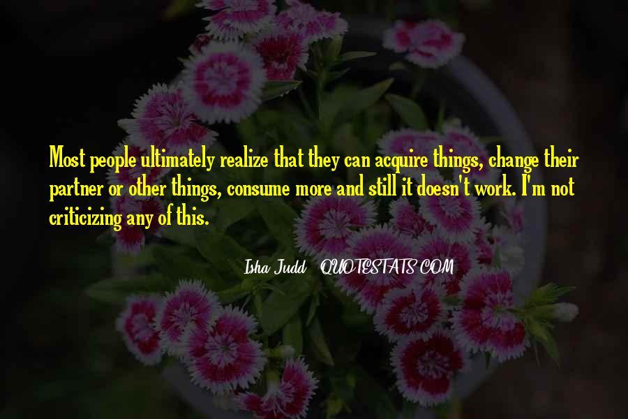 Judd Quotes #299388