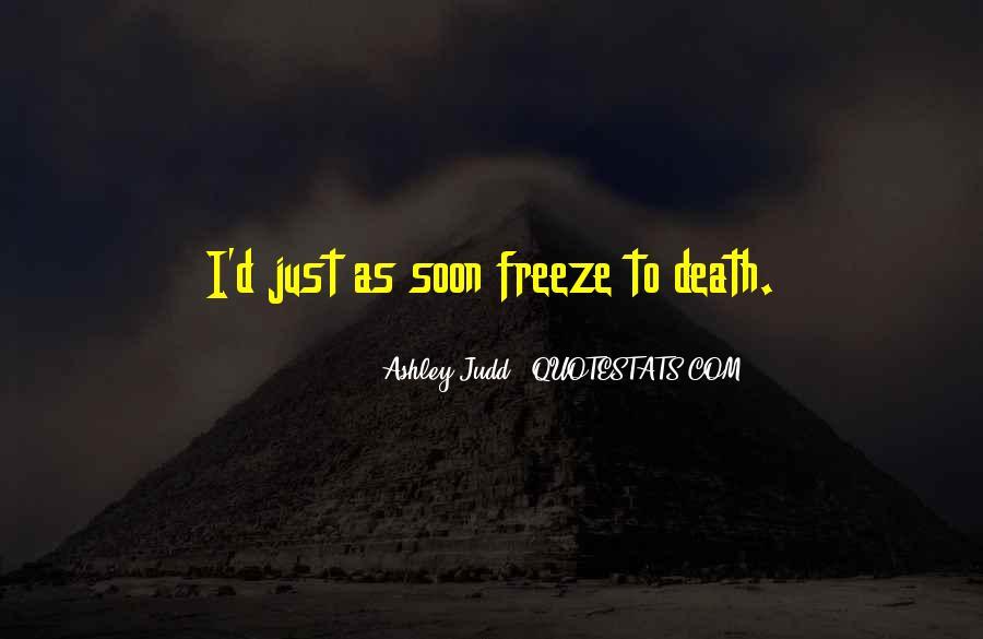 Judd Quotes #339718