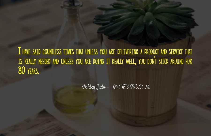 Judd Quotes #68110