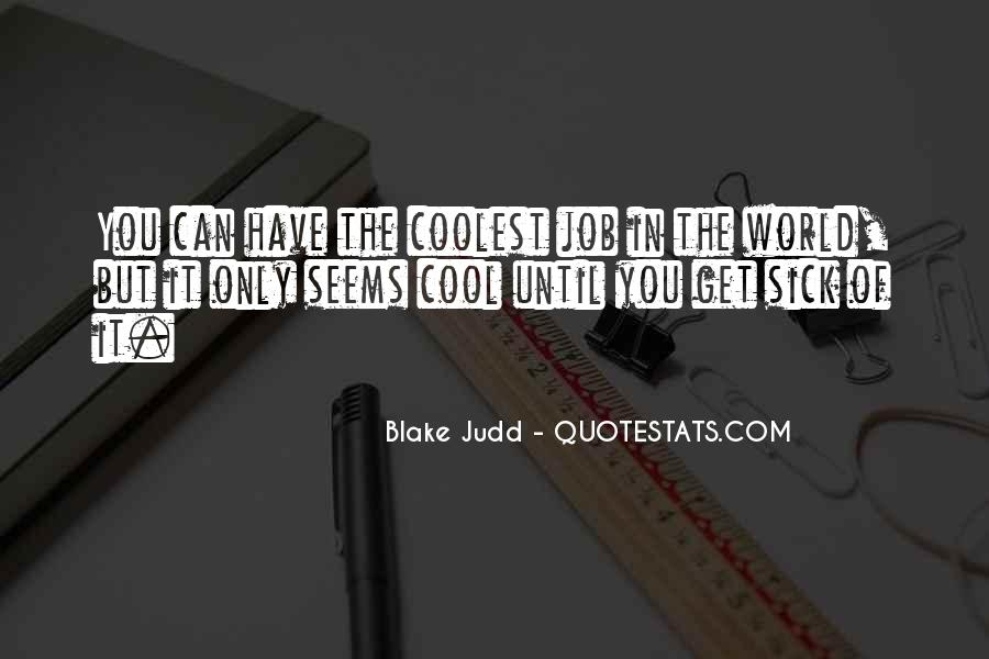 Judd Quotes #88493