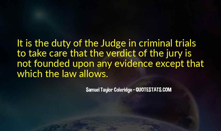 Judge Verdict Quotes #144954