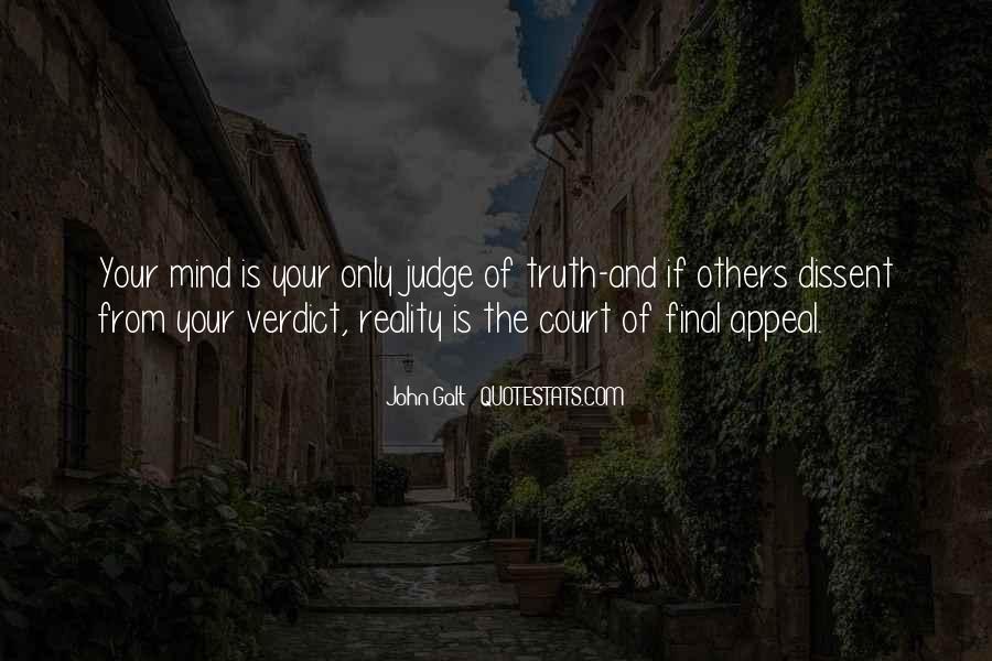 Judge Verdict Quotes #1863917