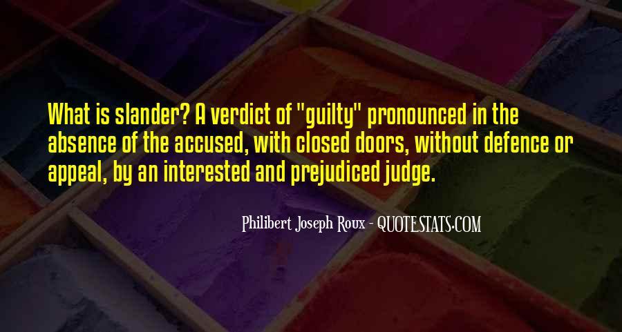 Judge Verdict Quotes #458628