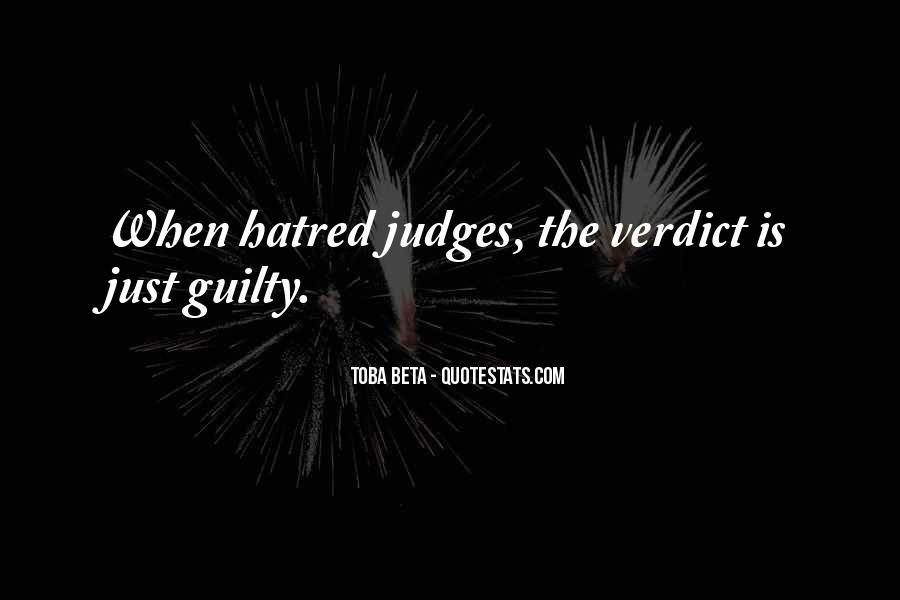 Judge Verdict Quotes #489713