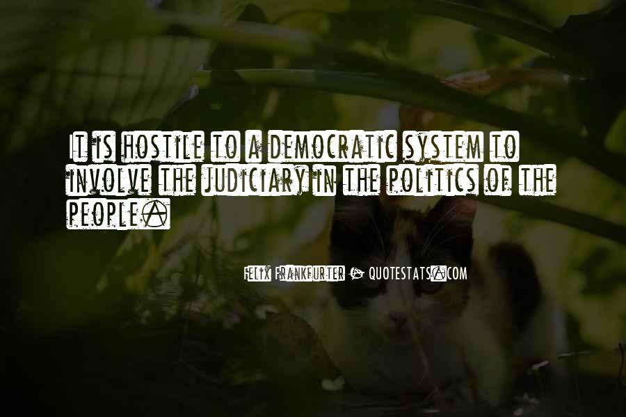 Judiciary System Quotes #1679373