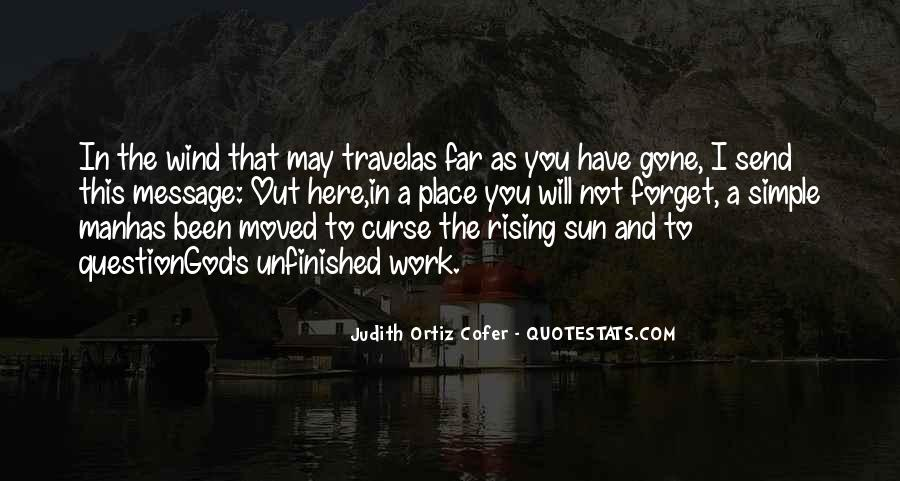 Judith Cofer Quotes #1047174