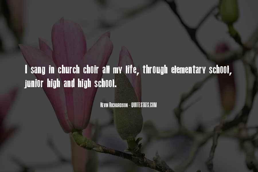 Junior High School Life Quotes #1609961