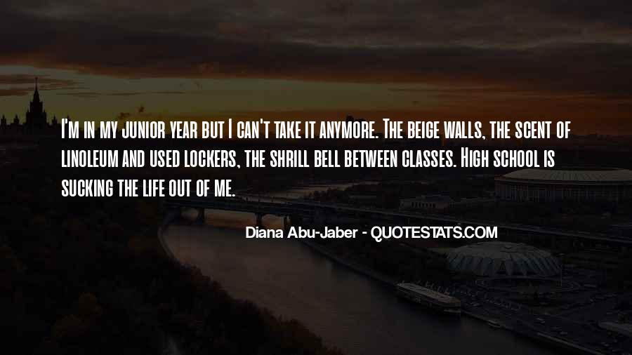 Junior High School Life Quotes #180149