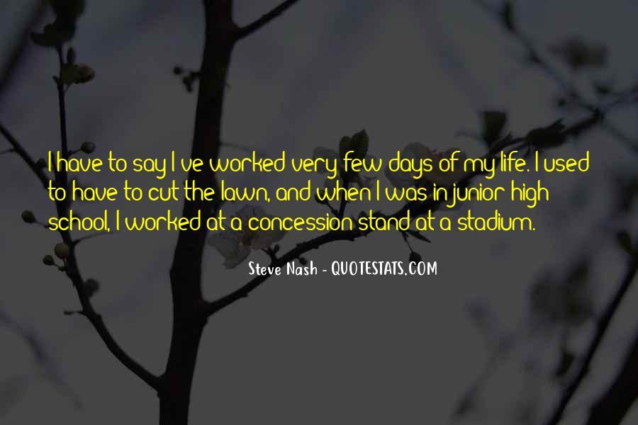 Junior High School Life Quotes #474882