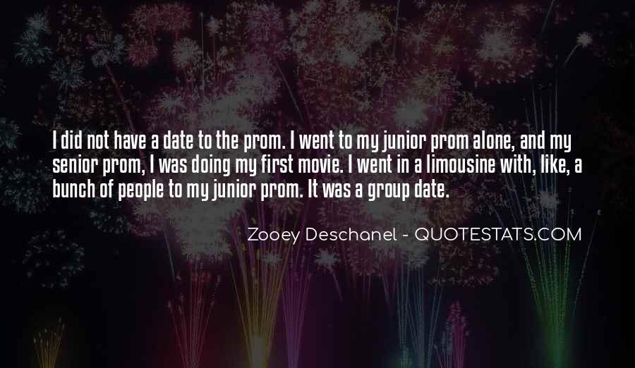 Junior Senior Prom Quotes #277287