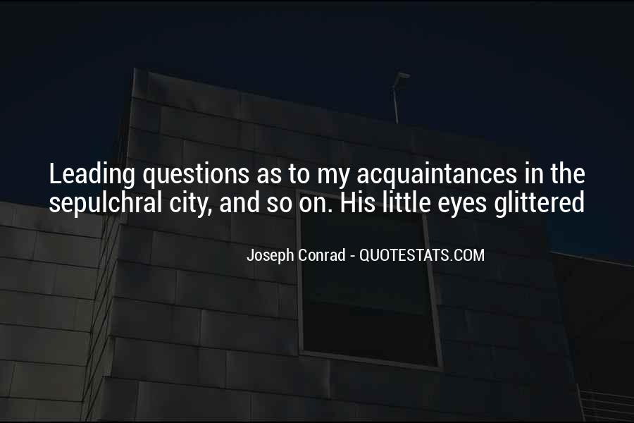Just Acquaintances Quotes #106913