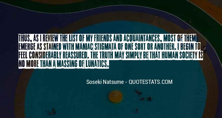 Just Acquaintances Quotes #351855