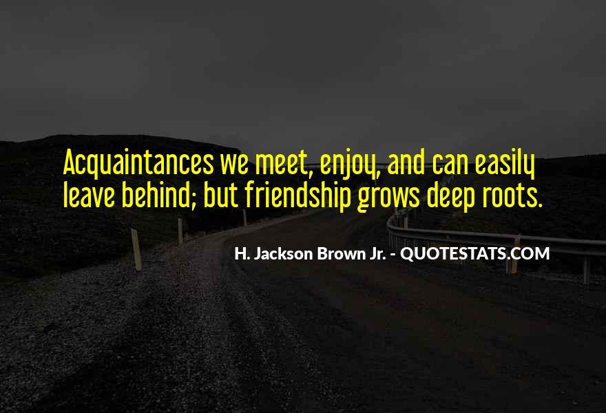 Just Acquaintances Quotes #4404