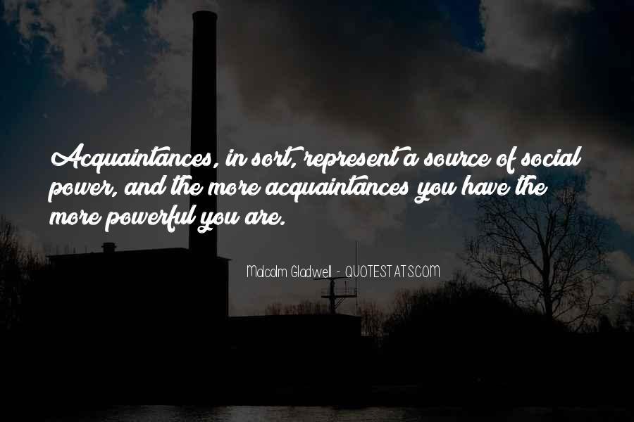 Just Acquaintances Quotes #471791