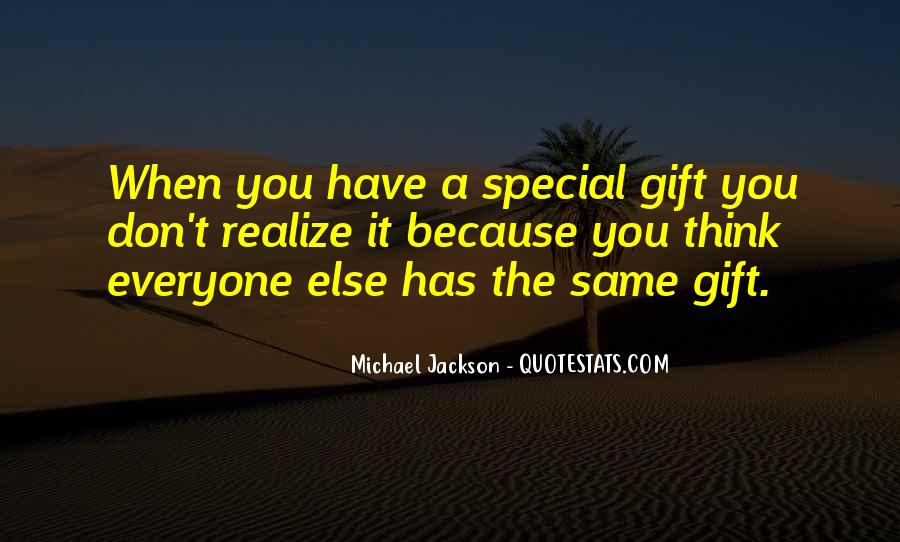 Just Because You Are Special Quotes #59177