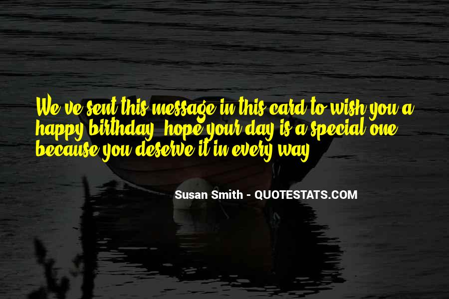 Just Because You Are Special Quotes #83429