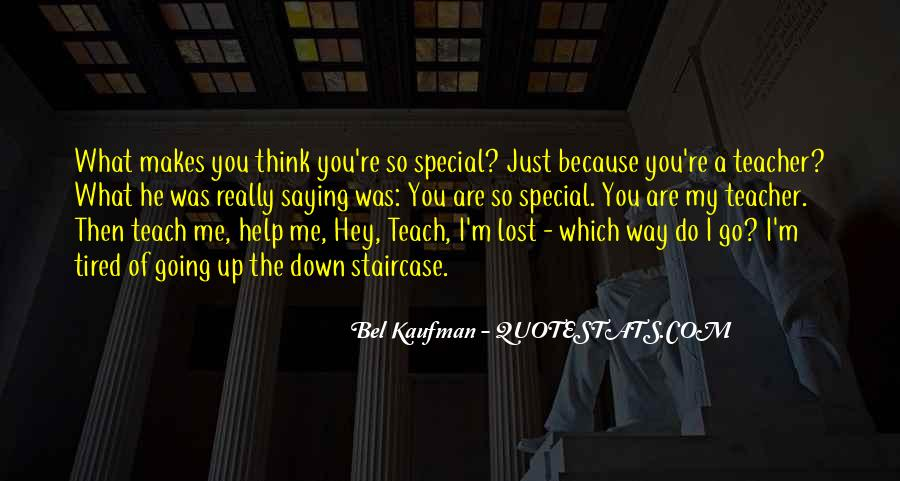Just Because You Are Special Quotes #906589