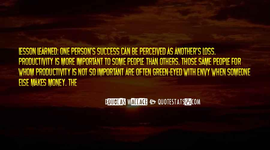 Quotes About Envy Person #1219113
