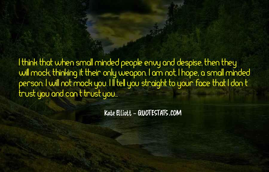 Quotes About Envy Person #1334813