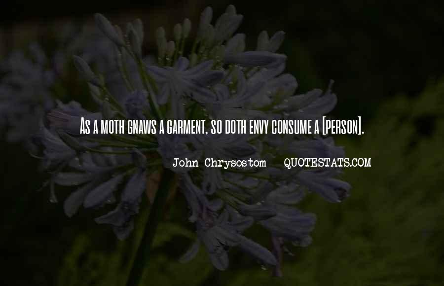 Quotes About Envy Person #1432156