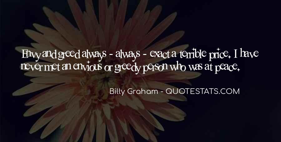 Quotes About Envy Person #1629174