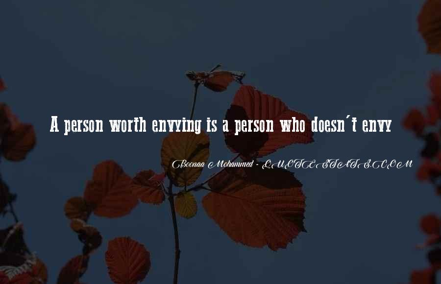 Quotes About Envy Person #1792794