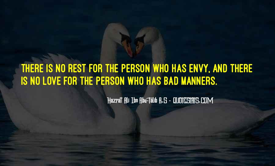 Quotes About Envy Person #669789