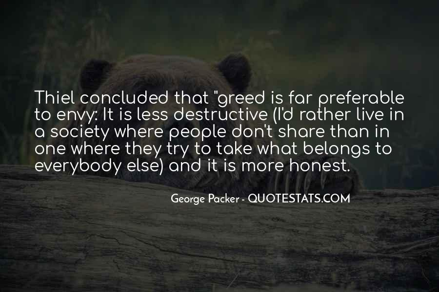 Quotes About Envy People #187207