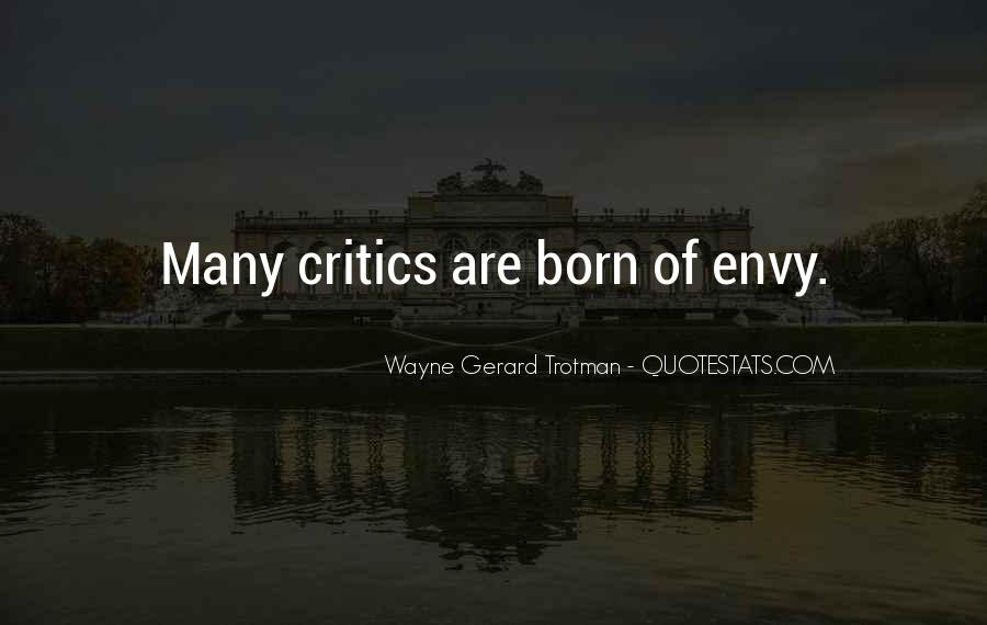 Quotes About Envy People #351667