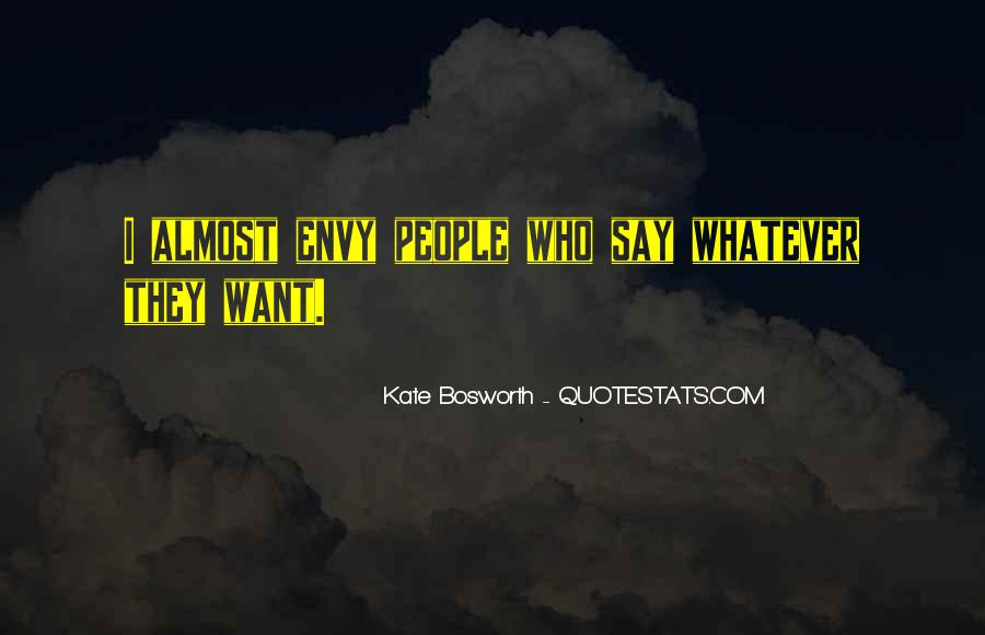 Quotes About Envy People #632804