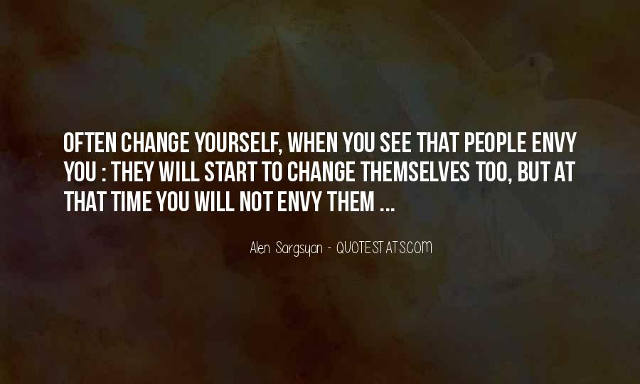 Quotes About Envy People #671911
