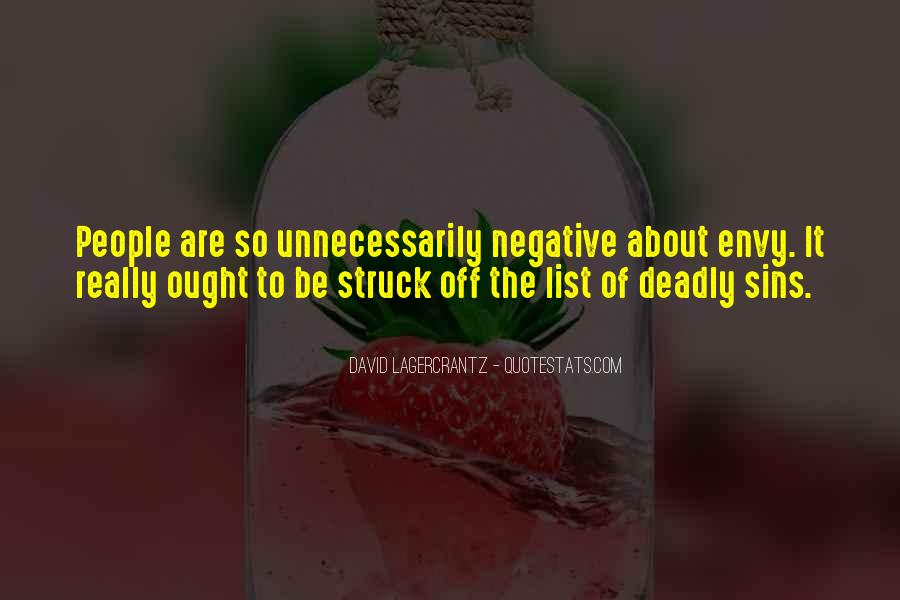 Quotes About Envy People #704452