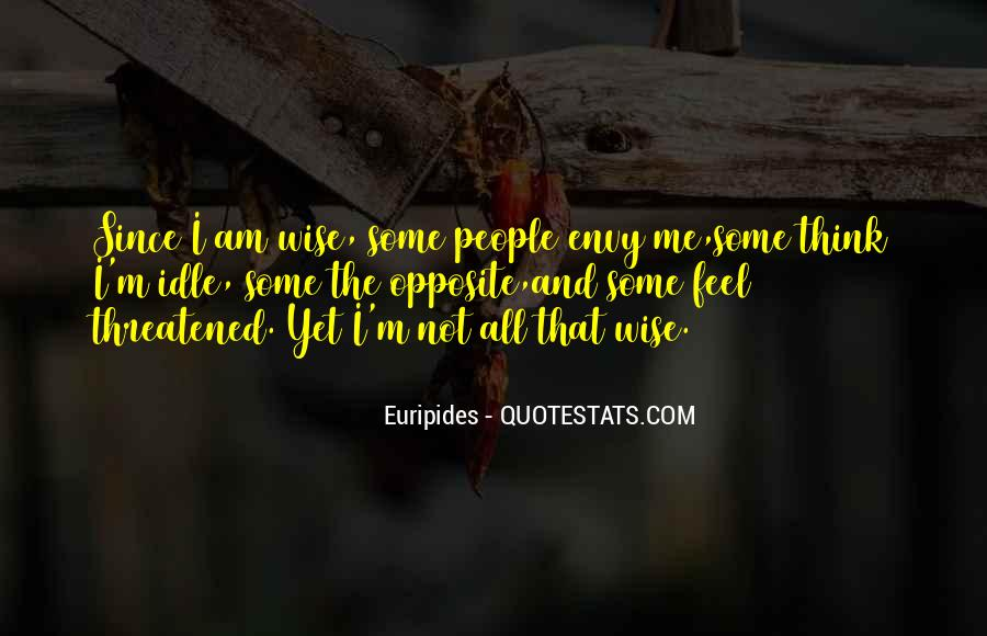 Quotes About Envy People #814360