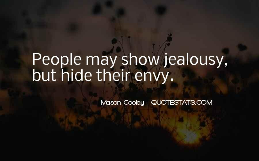 Quotes About Envy People #938439